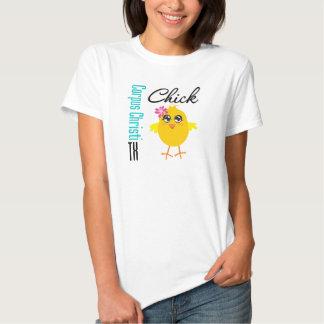 Corpus Christi TX Chick-1 Camisetas