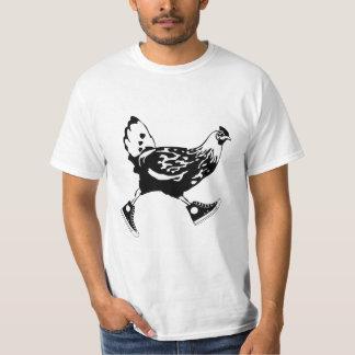 Corredor da galinha camiseta