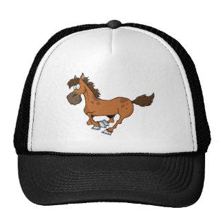 Corredor do cavalo bonés