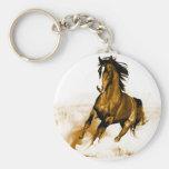 Corredor do cavalo chaveiros