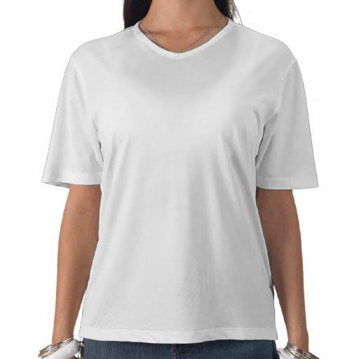 Corredor fêmea - funcione como uma menina tshirt