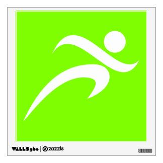 Corredor verde Chartreuse, de néon