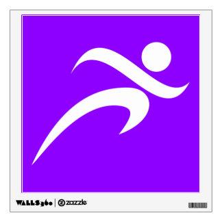 Corredor violeta do roxo