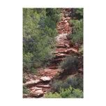 córrego do deserto impressão de canvas esticada