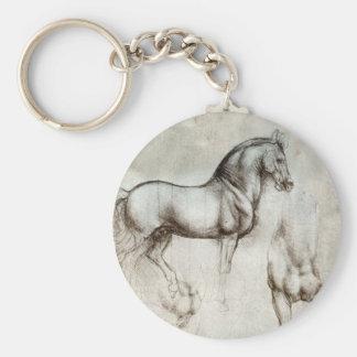 Corrente chave do cavalo de da Vinci Chaveiro