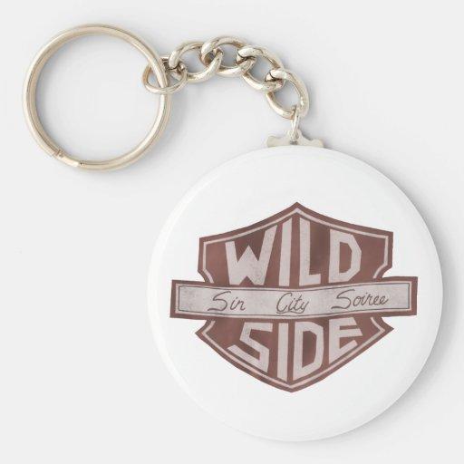 Corrente chave do logotipo do protetor de VWS Chaveiros