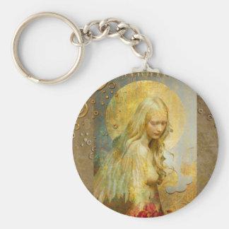 corrente chave do mida dourado chaveiro
