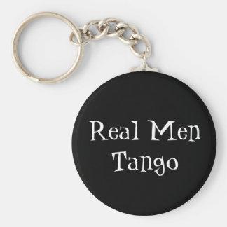 Corrente chave do tango real dos homens chaveiro