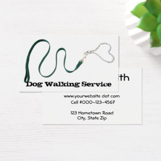Corrente verde serpentina da trela & do coração cartão de visitas