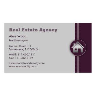 Corretor de imóveis dos bens imobiliários | cartão de visita