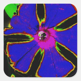Corriola de néon adesivo quadrado
