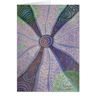 Corroboree no cartão do crepúsculo por Nganuwaay
