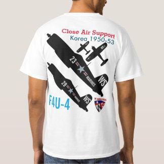 Corsário Coreia de Warkites F4u-4 Camiseta