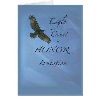 Corte de 3895 Eagle do convite da honra
