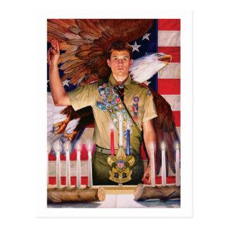 Corte de Eagle do cartão da honra