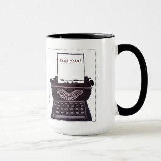 Corte isto! Caneca de café