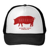 Cortes de carne de porco - bacon boné
