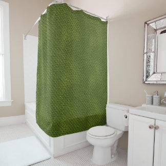 Cortina de chá do teste padrão da pele do cortina para chuveiro