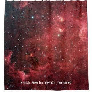 Cortina de chá infravermelha da nebulosa de cortinas para chuveiro