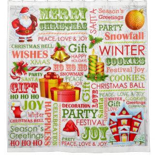Cortina Para Box As alegrias do Natal