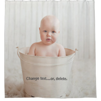 Cortina Para Box Bebê bonito que banha-se em uma banheira