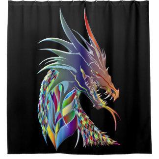 Cortina Para Box Cabeça do dragão