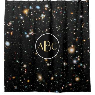 Cortina Para Box Campo ultra profundo de Hubble com monograma feito