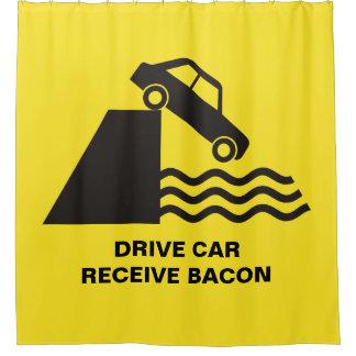 Cortina Para Box Carro da movimentação - receba o bacon