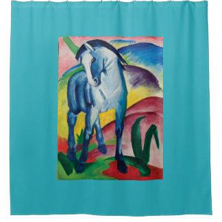 Cortina Para Box Cavalo azul mim por Franz Marc