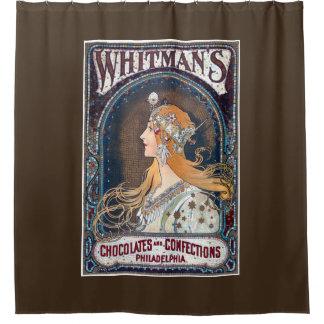 Cortina Para Box Chocolates e cortina de chá dos doces