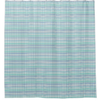 Cortina Para Box Classic-Summer-Breeze-Blue-Multi-Bathroom=Decor