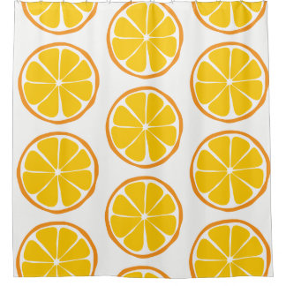 Cortina Para Box Cortina de chá alaranjada do citrino do verão