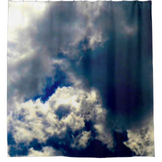 Cortina Para Box Cortina de chá da nuvem do crânio