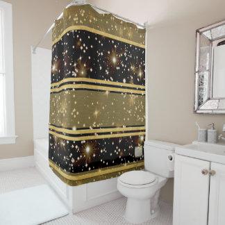 Cortina Para Box Cortina de chá da planície do ouro das estrelas