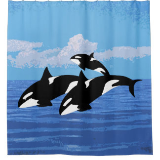 Cortina Para Box Cortina de chá das orcas