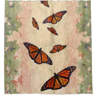 Cortina Para Box Cortina de chá do jardim do monarca