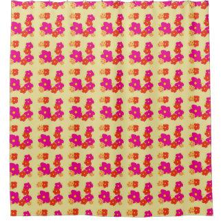 Cortina Para Box Cortina de chá florescida colorida