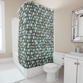 Cortina Para Box Cortina de chá legal retro do banheiro do Aqua de