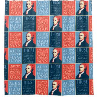 Cortina Para Box Cotações de Alexander Hamilton