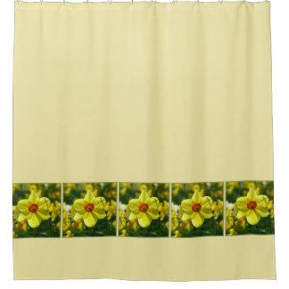 Cortina Para Box Daffodils amarelos alaranjado 02.1g
