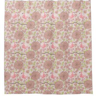 Cortina Para Box Dália cor-de-rosa, cortina de chá do teste padrão