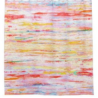 """Cortina Para Box Das """"A arte abstracta colorida felicidades"""