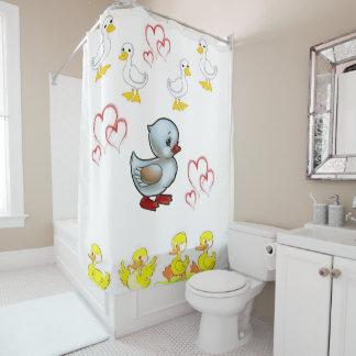 Cortina Para Box Ducks a cortina de chá do coração