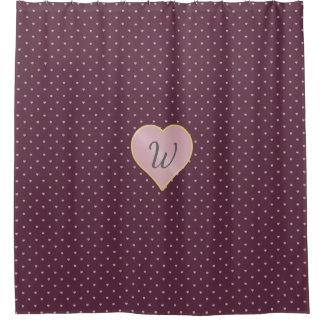 Cortina Para Box Estrelas dentro dos corações na cortina de chá do