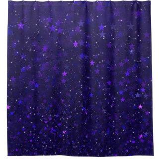 Cortina Para Box Estrelas roxas de Bokeh