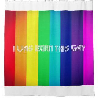 Cortina Para Box Eu era nascido este gay