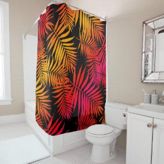 Cortina Para Box Folha tropical da palmeira da decoração