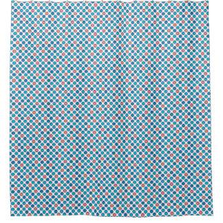 Cortina Para Box Hexágonos coloridos