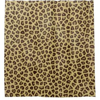 Cortina Para Box Impressão do leopardo/chita