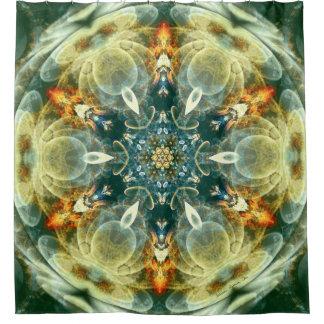 Cortina Para Box Mandalas do coração da cortina de chá da mudança 6